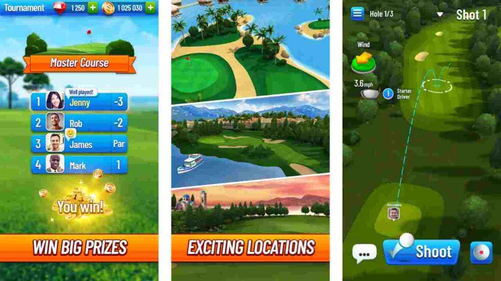 Golf Strike Mod APK 1