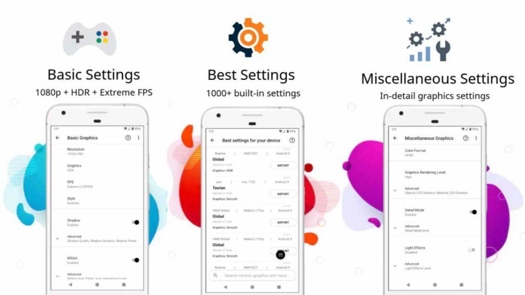 PGT Pro Graphics Toolkit APK Plus Unlocked