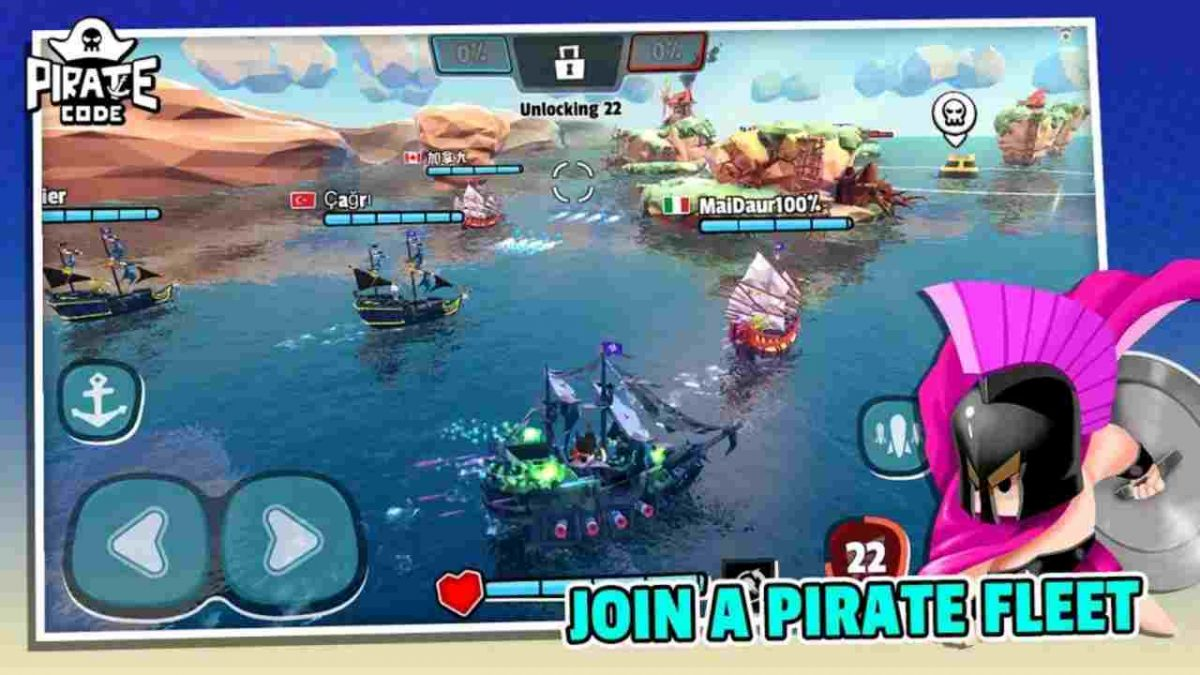 Pirate Code Mod Apk