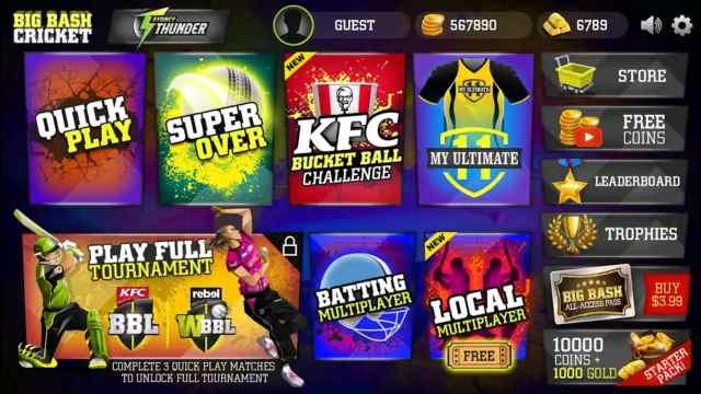 big bash cricket mod apk download unlimited money