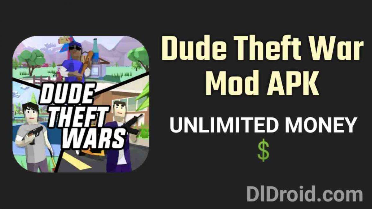 dude theft wars mod apk unlimited money