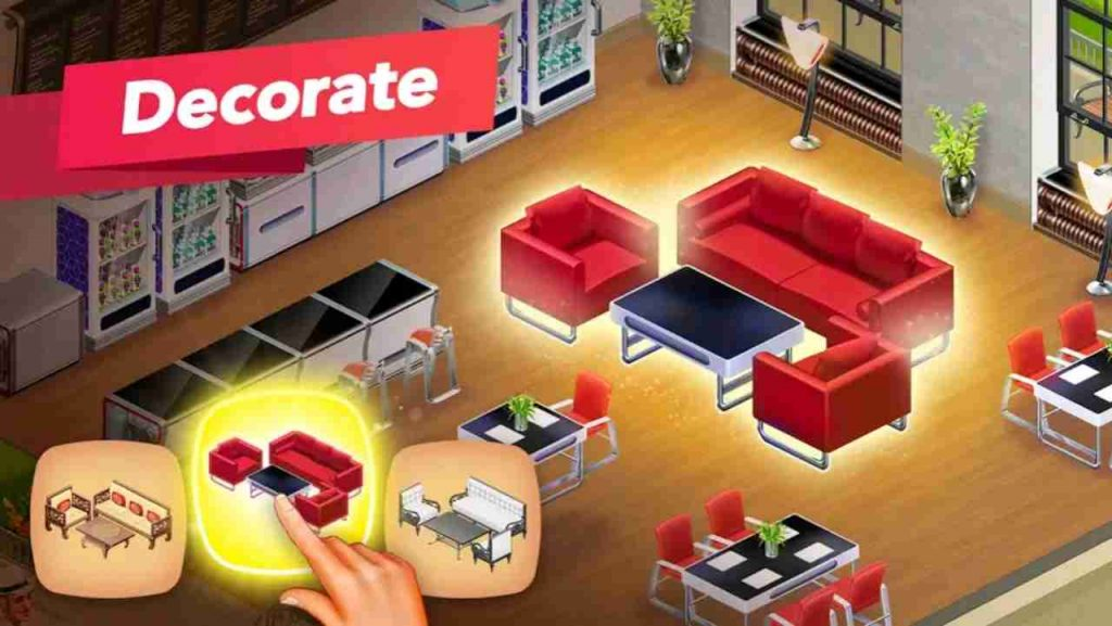 my cafe mod apk unlimited coins