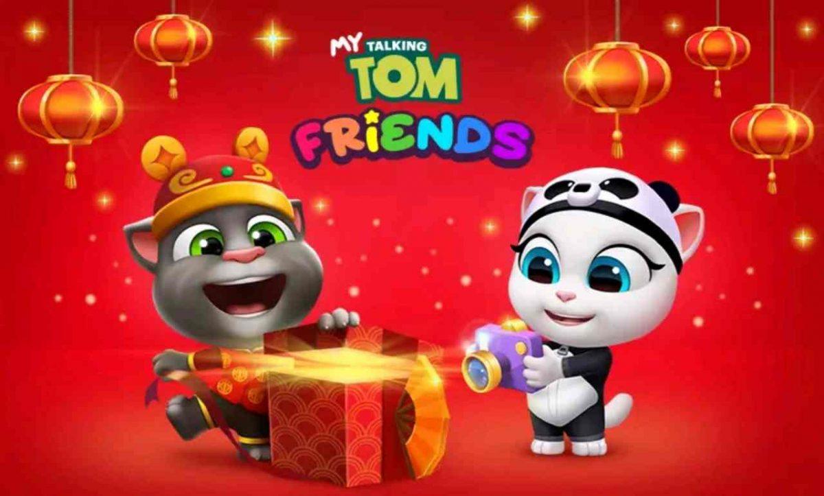 my talking tom friends mod apk download