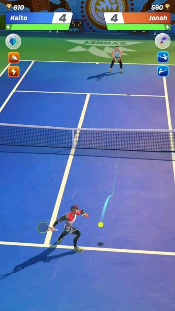 tennis clash mod apk unlimited money and gems