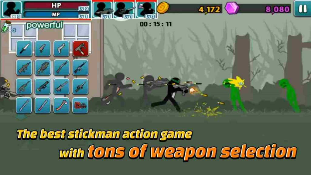 Anger of Stick 5 MOD APK Unlimited Money and Diamonds