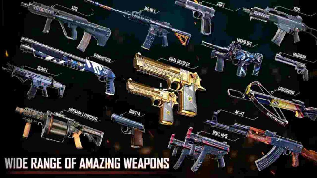 Battleops MOD APK Unlocked All Weapons