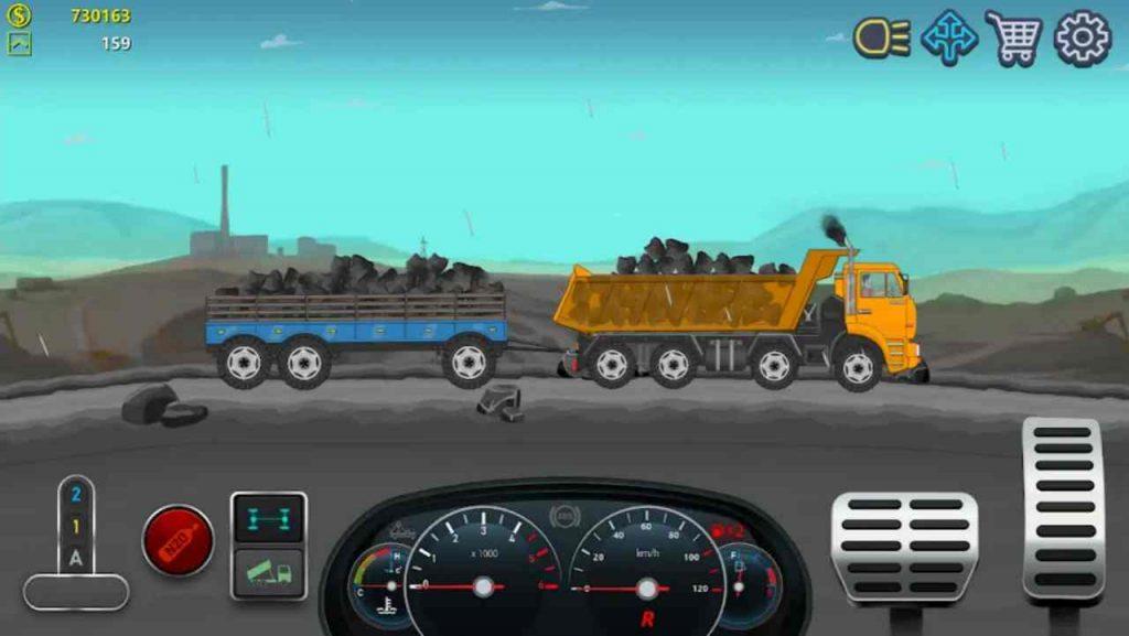 Download Trucker Real Wheels Mod APK