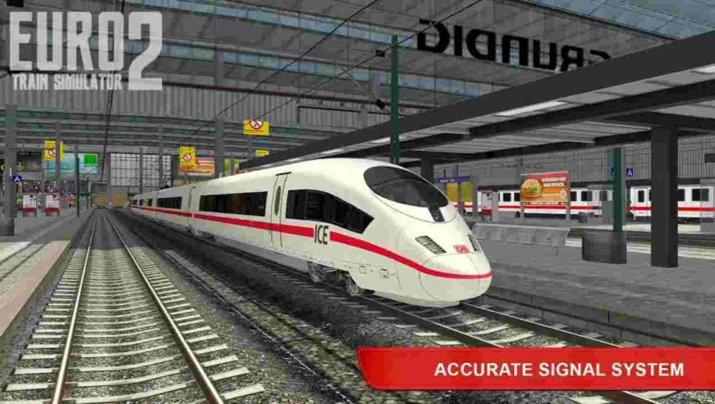 Euro Train Simulator 2 Mod Apk Unlimited Money