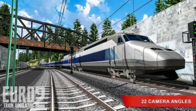 Euro Train Simulator 2 Mod Apk Unlimited Money Download