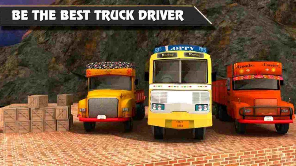 Lorry Truck Hill Transporter MOD APK