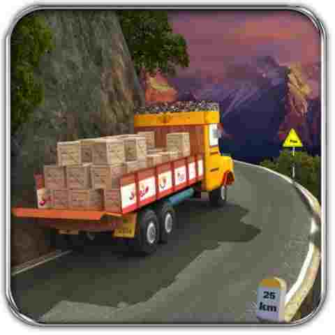 Lorry Truck Hill Transporter MOD APK Logo