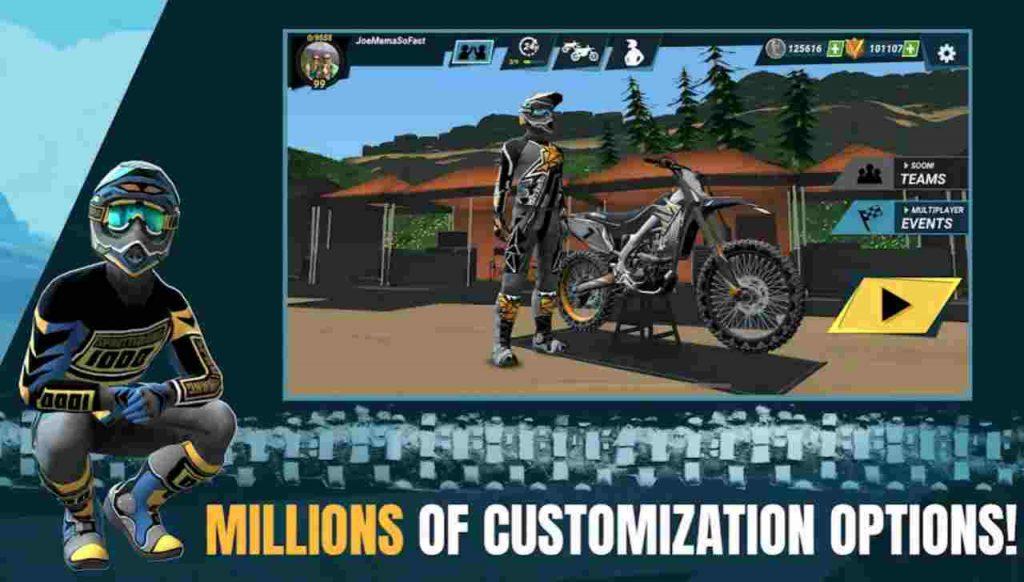 Mad Skill Motocross 3 Mod APK Unlimited Gold