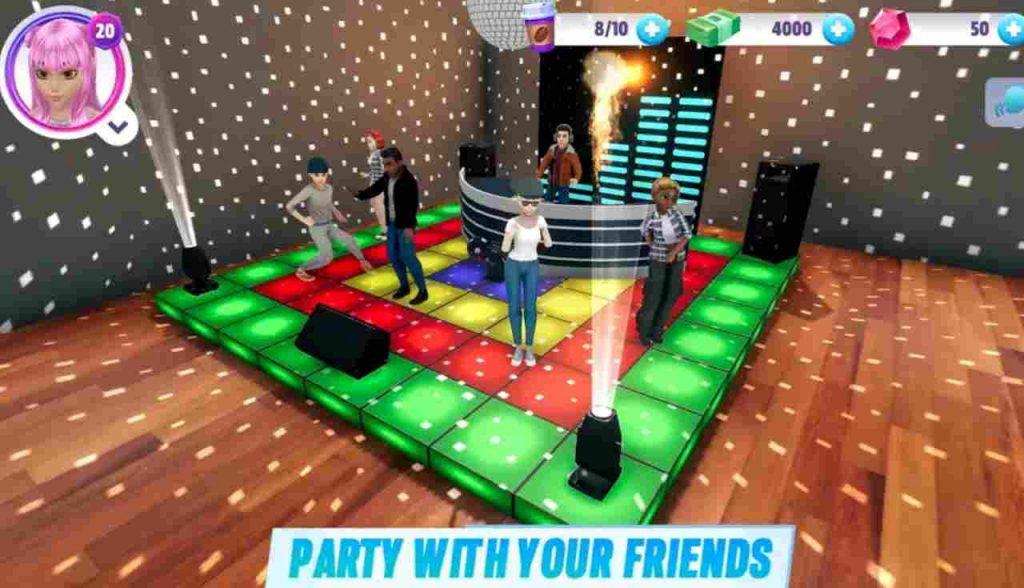 Virtual Sim Story Dream Life Mod Apk 2