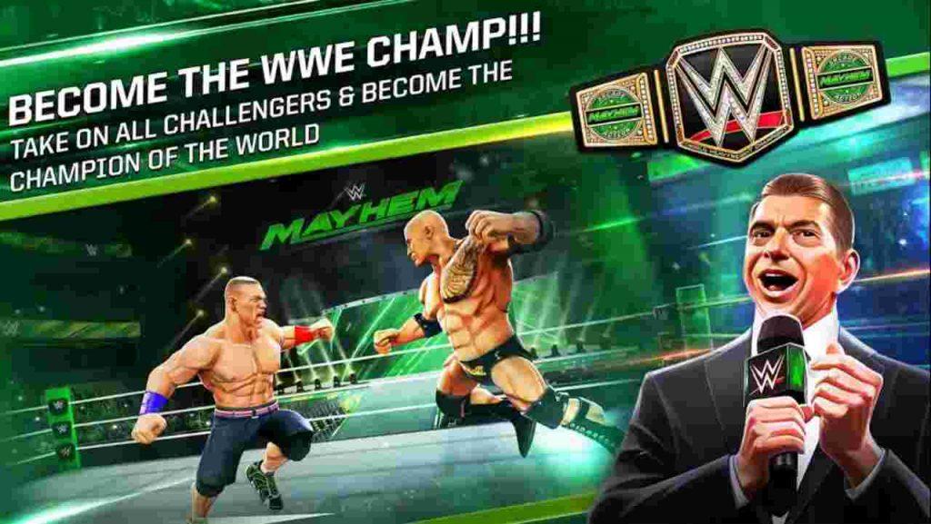 WWE Mayhem MOD APK Download