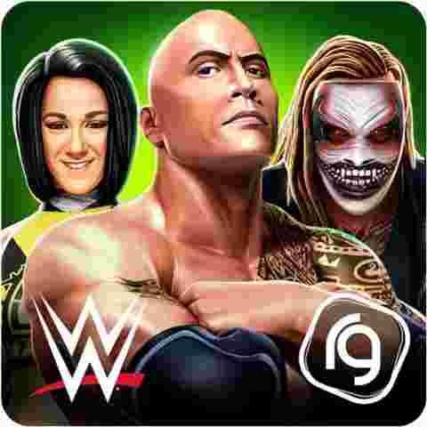 WWE Mayhem Mod APK Logo