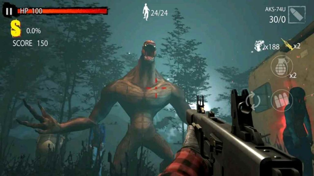 Zombie Hunter D-Day Mod APK