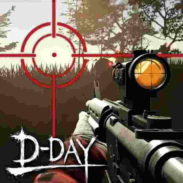 Zombie Hunter D-Day Mod APK Logo