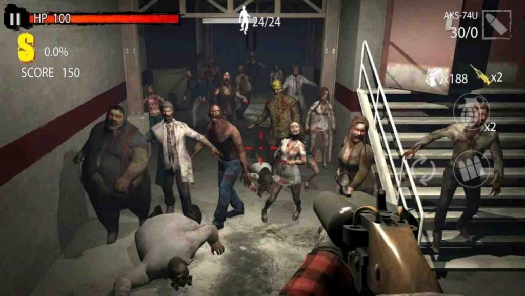 Zombie Hunter D-Day Mod APK Unlimited Money