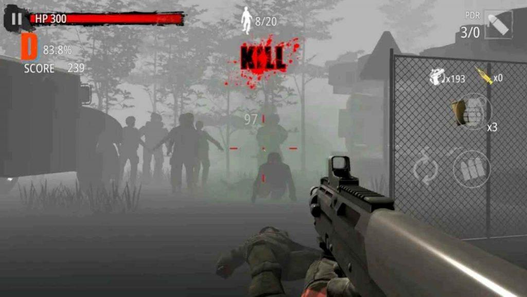 Zombie Hunter D-Day Mod APK download