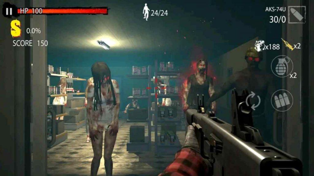 download Zombie Hunter D-Day Mod APK